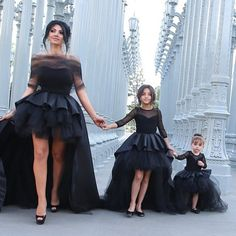 All Black Everything | Mommy & Me Moments | Mommy Daughter Fashion | photography | OOTD