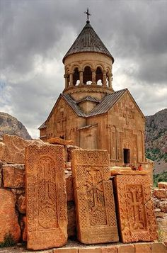 Noravank monastery, dating from 12th century - Armenia