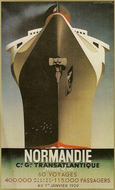 French Line-Normandie, Cassandre