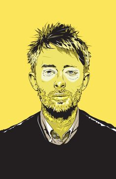 Thom Yorke Art Print by Matt Fontaine | Society6