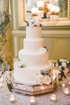 Wedding cake idea; Featured Photographer: Photography Du Jour