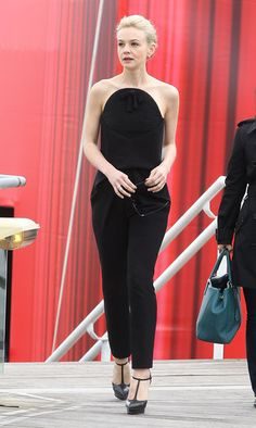 Carey Mulligan in Fall 2013 Balenciaga at Cannes, The Great Gatsby's photocall