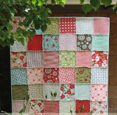 Quick and Cuddly Rag Quilt | FaveQuilts.com