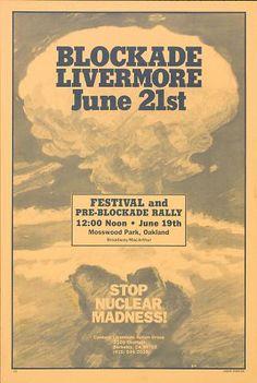Blockade Livermore June 21st (1983)
