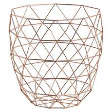 Copper Wire Basket-storage-cravehome