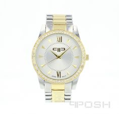 Product Product Category POSH Time Pieces - Modern and timeless face design - Plated in a gorgeous - Selling On Pinterest, Face Design, Bracelet Designs, Fashion Watches, Michael Kors Watch, Gold Watch, Jewelry Stores, Sterling Silver Jewelry, Jewelry Design