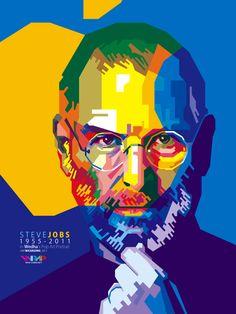 Steve Jobs in WPAP
