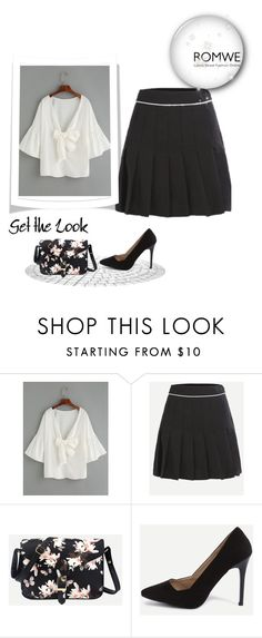 """ROMWE - 3/5"" by thefashion007 ❤ liked on Polyvore"
