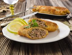Ground Meat, Beef Recipes, German Recipes, Baked Potato, Turkey, Food And Drink, Yummy Food, Chicken, Baking