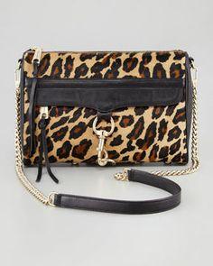 ShopStyle.com: Rebecca Minkoff M.A.C. Leopard-Print Calf Hair Crossbody Bag $345.00
