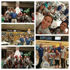 With our team and fellow rotarians! Pins for Kids Bowling Tournament! Happy to support another great community event!