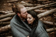 Bobby & Raquel| Dreamy forest engagement — Christina & Jeremiah