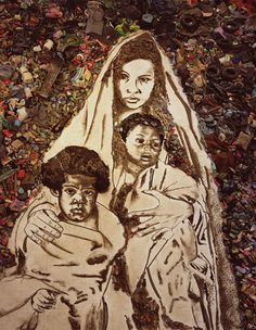 Vik Muniz, Mother and Children (Suellen), from the series Pictures of Garbage, 2008