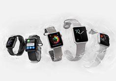 "Apple Unveils the ""Swimproof"" Apple Watch Series 2."