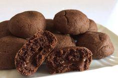 Biscotti al cioccolato con un cuore fondente di Le Torte di Simona