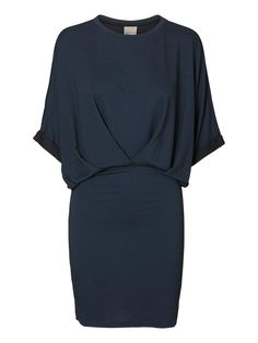 Dark blue dress from VERO MODA.