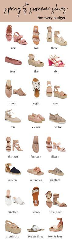 Spring and Summer Shoes For Every Budget | Summer Espadrilles | Embellished Sandals | Embellished Slides | Affordable Shoes | Designer Shoes | Rebecca Minkoff Shoes | Steve Madden Shoes | Affordable Fashion Blogger