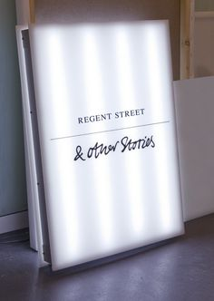 H opened & Other Stories store on Londons Regent Street