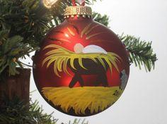 handpainted ornament