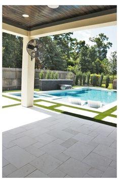 Backyard Pool Landscaping, Backyard Pool Designs, Small Backyard Pools, Swimming Pools Backyard, Outdoor Pool, Modern Backyard Design, Luxury Swimming Pools, Lap Pools, Indoor Pools