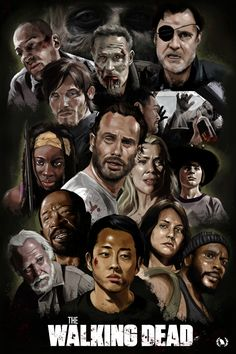 The Walking Dead Fan Art Print by Ninth Branch Walking Dead Zombies, Carl The Walking Dead, The Walk Dead, Walking Dead Fan Art, Walking Dead Show, Walking Dead Tv Series, Fear The Walking, The Walking Dead Poster, Walking Dead Wallpaper