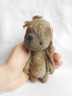 Artist bear bunny made to order by Sylvie Touzard