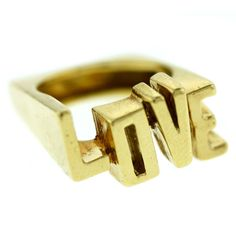 "CARTIER 1970s ""LOVE"" Ring 