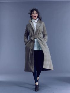 JUST ARRIVED: The AMANDA Maxi Coat in Insulated Camel