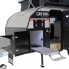 Black Series Campers Off Road Camper Trailer, Camper Trailers, Fly Screen Doors, Water Plumbing, Tiny Trailers, Jerry Can, Black Series, Rv