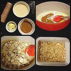Modo de fazer: Faça um brigadeiro mole em fogo baixo mexendo sem parar o leite condensado com a manteiga e o doce de leite até desgrudar da panela. Retire do fogo e coloque os biscoitos picados com as mãos e coloque em uma forma. Depois de frio corte em pedaços e passe no açucar.