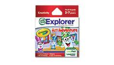 Explorer™ Game Cartridge: Crayola Art Adventure #LeapFrogWishList