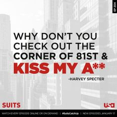 Loves it. #suits #usa Suits USA