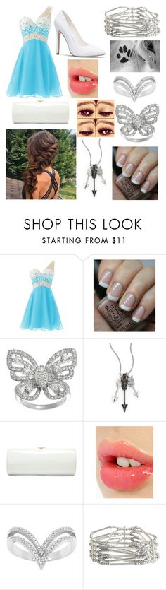 """Homecoming 2"" by jodie-shultz ❤ liked on Polyvore featuring OPI, Journee Collection, Jade Jagger, Jimmy Choo, Charlotte Tilbury, La Preciosa and Pieces"