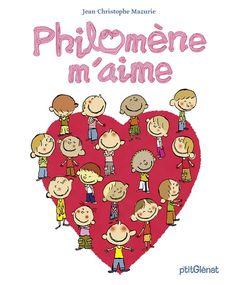Philomène m'aime de Jean-Christophe Mazurie p'titGlénat dans la collection Vitamine