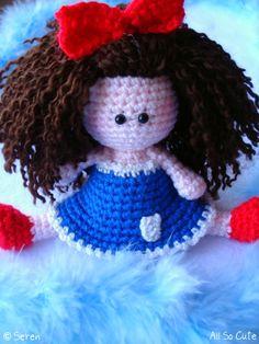 AllSoCute Amigurumis: Amigurumi Sweet Girl / Tatlı Örgü Oyuncak Bebek