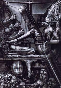 Hans Rüdi Giger: Deathbirth Machine II
