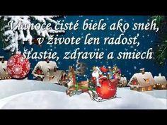 Vianocny pozdrav 2 - YouTube Youtube, Merry Christmas, Merry Little Christmas, Wish You Merry Christmas, Youtubers, Youtube Movies