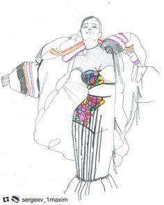Fashion Illustration Speed Painting with Ink - Drawing On Demand Illustration Mode, Fashion Illustration Sketches, Fashion Sketches, Fashion Drawings, Sketch Poses, Fashion Design Sketchbook, Fashion Figures, Fashion Portfolio, Graphic