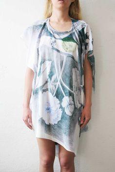 Scarf Dress Print Pencil