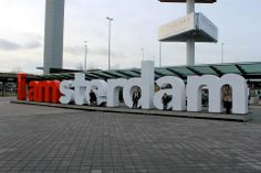 The IAMSTERDAM sign is always a fun photo opp. #lafemme #amsterdam