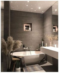 Find images and videos about home, design and house on We Heart It - the app to get lost in what you love. Dream Bathrooms, Dream Rooms, Beautiful Bathrooms, Master Bathrooms, Master Baths, Contemporary Bathrooms, Home Design, Design Ideas, Bath Design