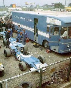 F1 Matra Team Transporter