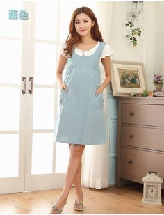 Summer maternity clothing maternity clothing fashion one-piece dress faux two piece maternity braces skirt for pregnant women bb in dresses of baby products on alibaba group Maternity Fashion Dresses, Maternity Dresses Summer, Maternity Clothing, Fashion Outfits, Summer Dresses, Dress Fashion, One Piece Dress, The Dress, Dresses For Pregnant Women