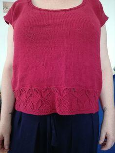 Knit test Top Jane par Christelle