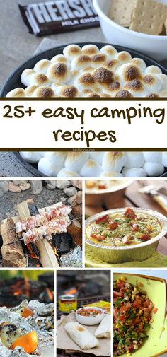 25+ easy camping recipes - Feature - NoBiggie.net