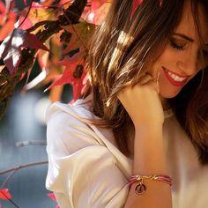 I colori autunnali e la dolcezza di Rosso Valentina Blog che indossa la linea #rainbow di #birikini! Meraviglioso! #sonobirikini #birikinidonna #bloggerbirikina
