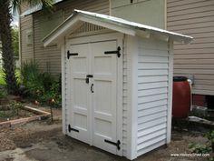 Custom utility shed