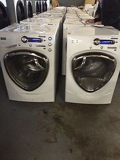general electric front load washer and gas dryer domestic no coin boxes
