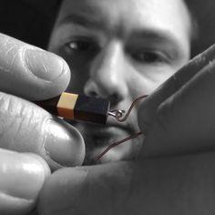 élieBois / L'atelier - créateur de bijoux en bois / Workshop - wooden jewelry designer Designer, Usb Flash Drive, Creations, Jewelry Designer, Atelier, Usb Drive