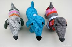 Crochet Free Amigurumi Patterns Dutch Ideas For 2019 Crochet Diy, Crochet Amigurumi Free Patterns, Crochet For Kids, Crochet Crafts, Crochet Dolls, Yarn Crafts, Crochet Projects, Crochet Mignon, Confection Au Crochet